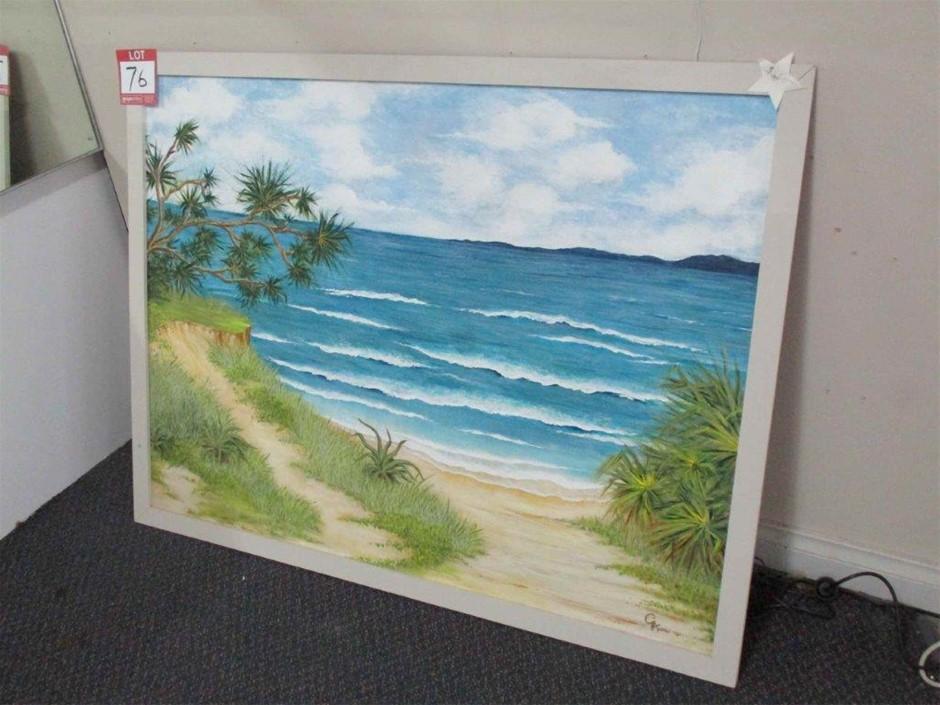 2012 Beach Painting