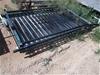 5 x Assorted Aluminium Fence Panels