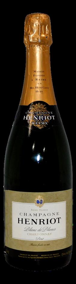 Henriot Blanc de Blancs Brut Chardonnay Champagne NV (1x 750mL)