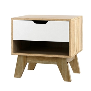 Artiss Bedside Table Drawer Nightstand S