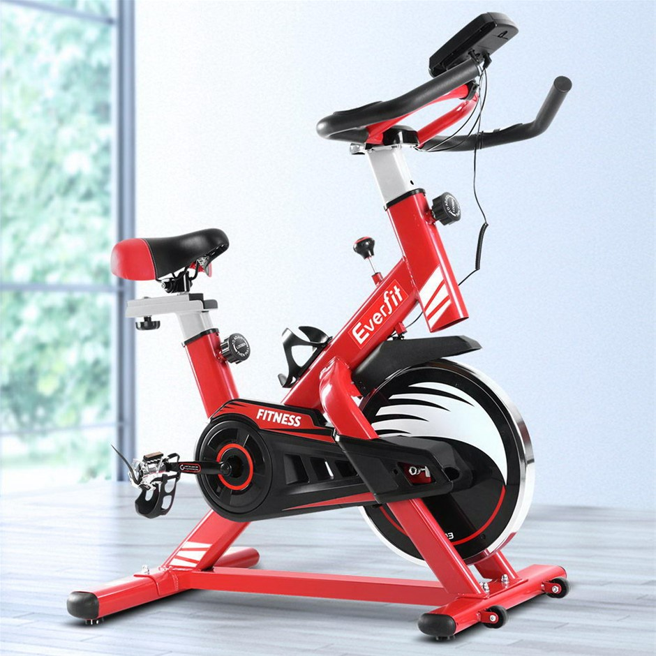 Everfit Exercise Spin Bike Cycling Fitness Commercial Home Workout