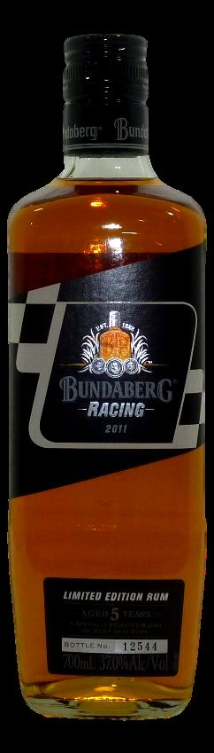Bundaberg Racing Rum 2011 Rum 2011 (1x 700mL, Bottle #12544)