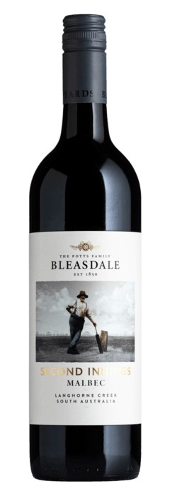 Bleasdale Second Innings Malbec 2018 (6x 750mL). SA