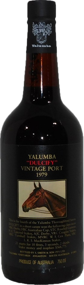 Yalumba Thoroughbred Dulcify Port 1979 (1 x 750mL) SA. 5 Star Prov!