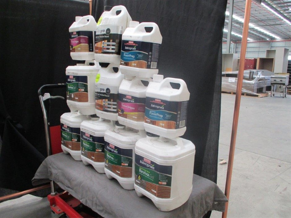 Intergrain Assorted Wood Cleaners