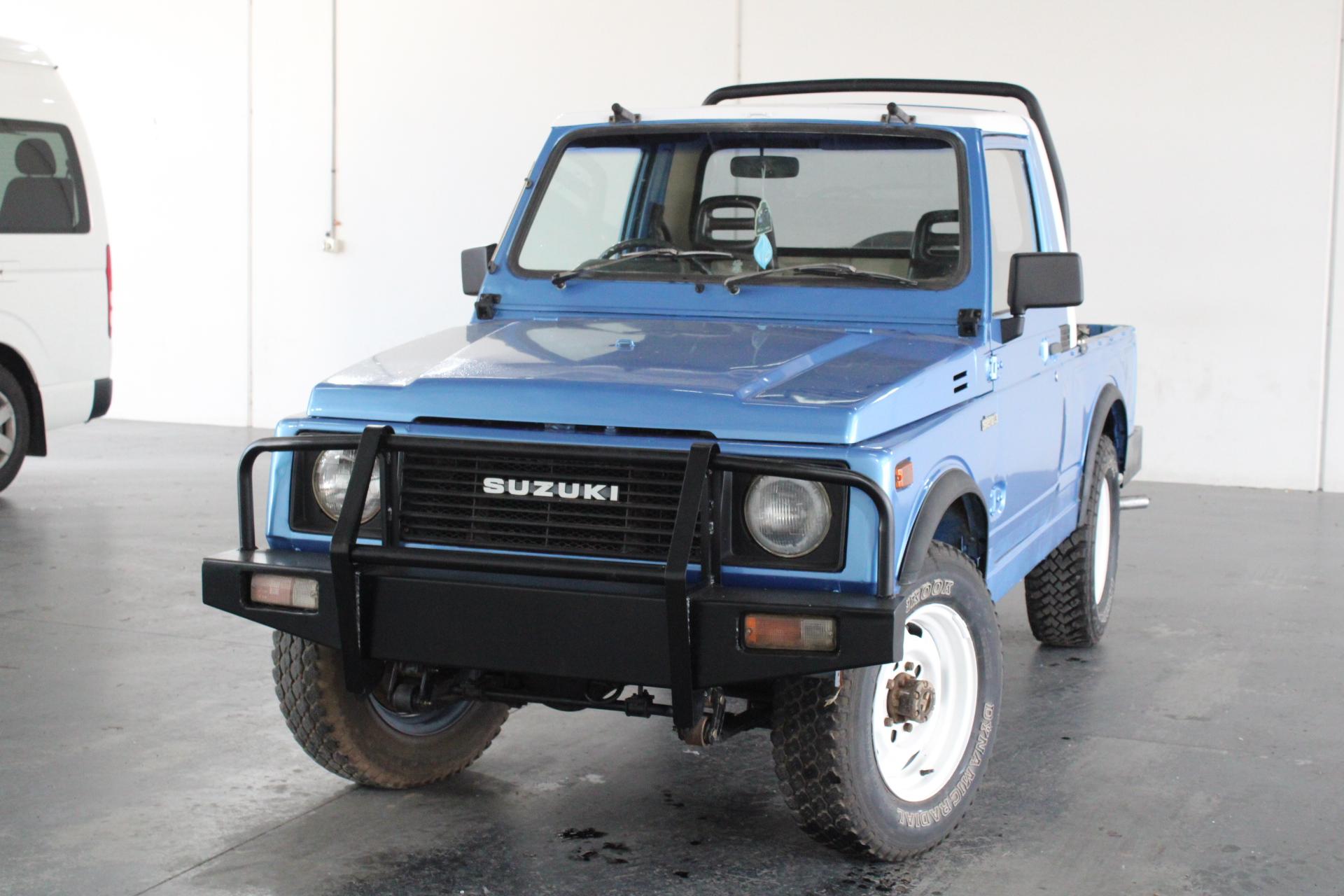 1984 Suzuki Sierra Manual Ute