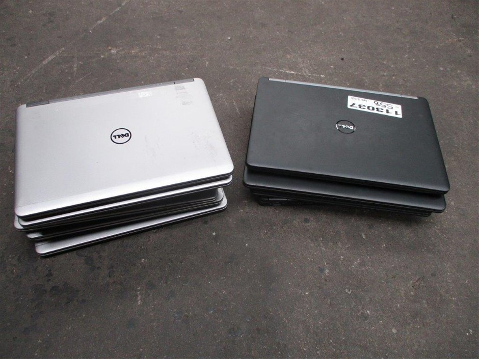 Qty 10 x Dell Various Notebooks (Parts)