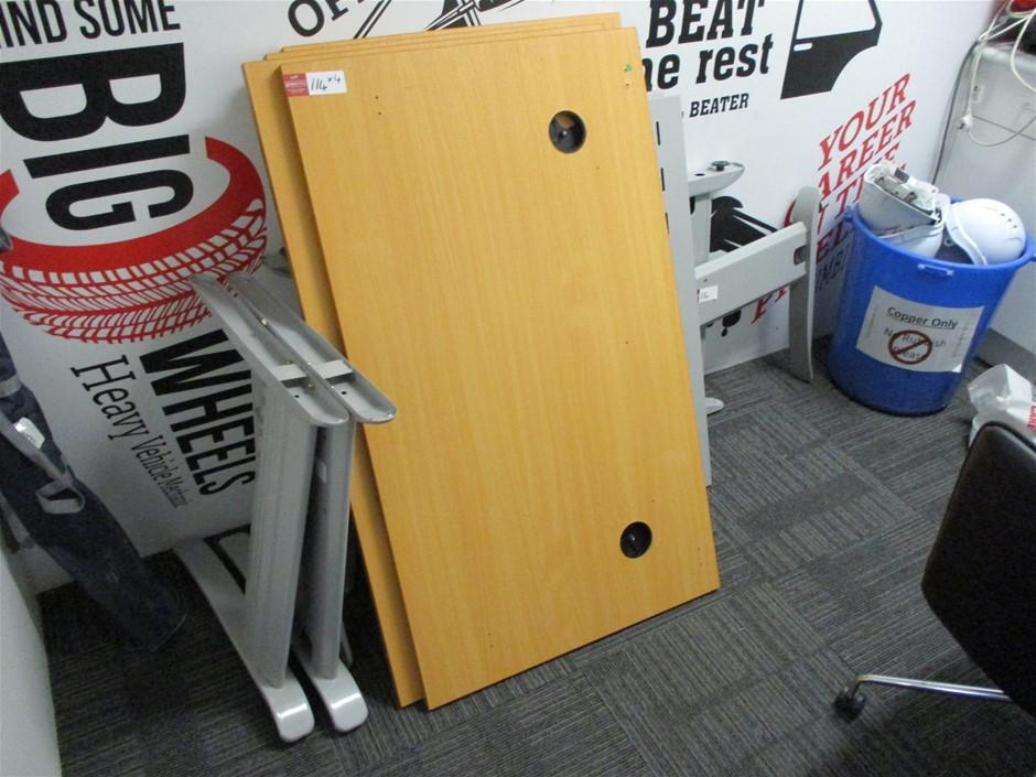 Qty of 4x Office Desks