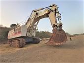 Terex RH170 & Liebherr Excavators