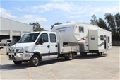 2008 Iveco Daily Auto and 2007 Flagstaff Super Lite