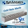 Unused Cold Bain Marie 9 x 1/3 GN (Trays Not Included) - VRX-2000