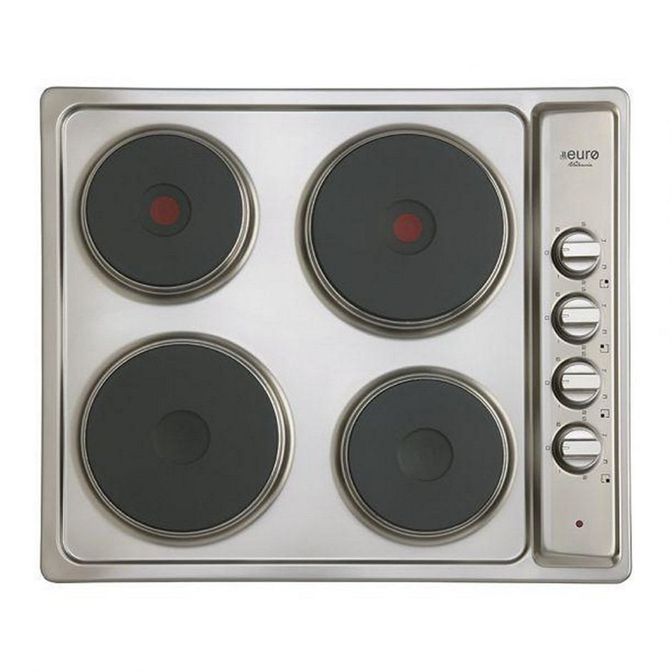 Euro 60cm Electric Cooktop, Model: ECT600ESS
