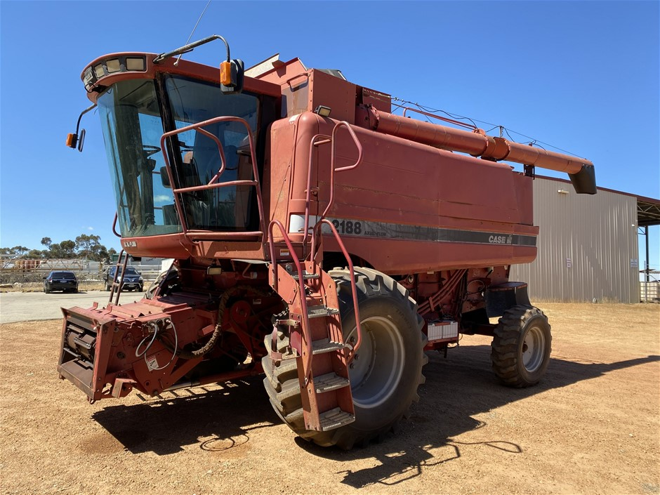 Case 2188 Header with Case 36' Front