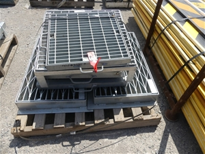 Drain & Pit Covers 3 X Pallets assorted