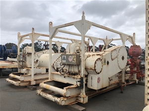National Oilwell Varco Triplex Mud Pump