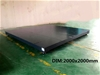 5T on-ground scale with wireless display 2000x2000mm
