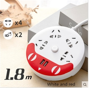 4 way Powerboard with 2 USB outlets