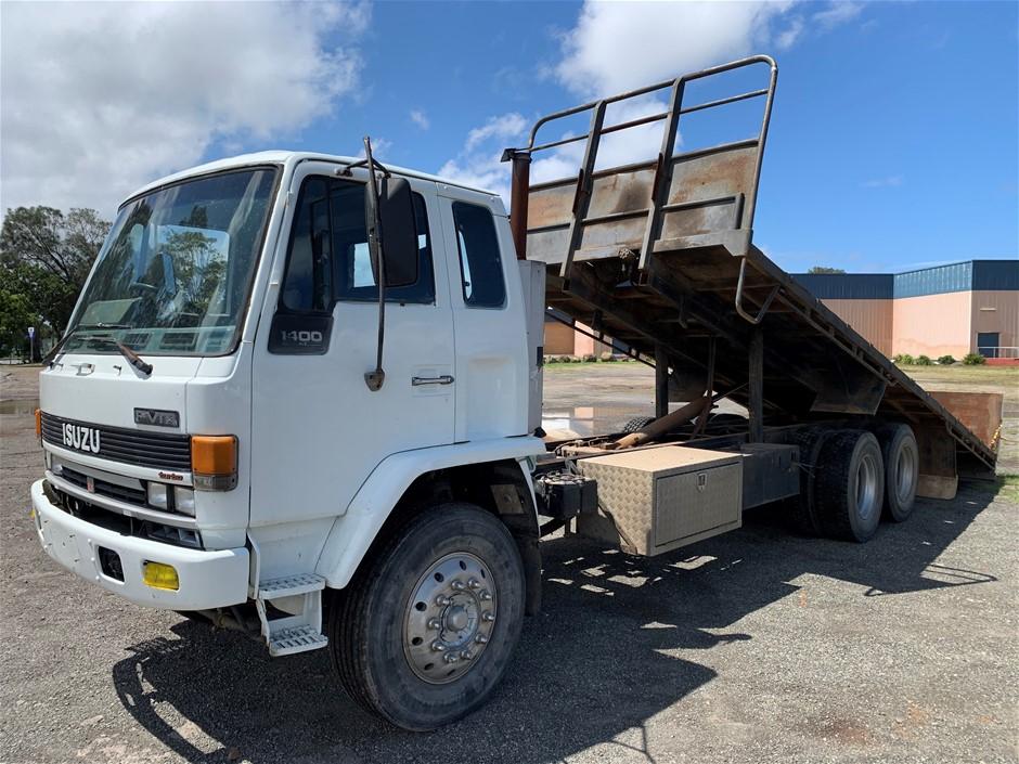 1990 ISUZU FVM 1400 TILT TRAY 6 x 2 Tilt Tray Truck