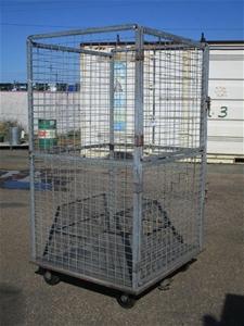 Wire Framed Storage Cage