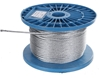Reel 100M x Galv. Wire Rope, 4mm Dia, Construction 6x19 FC. Buyers Note - D