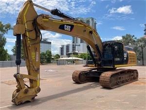 2014 Caterpillar 349EL Hydraulic Excavat