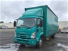2012 Isuzu FSR 850 Medium CNG220 4 x 2 Curtainsider Rigid Truck