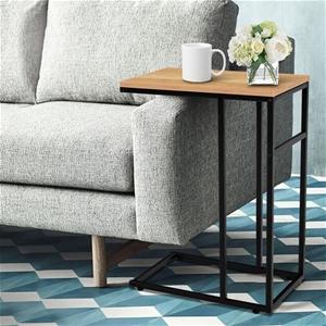 Artiss Coffee Side Table Laptop Desk Bed