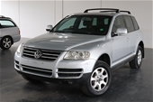 Unreserved 2003 Volkswagen Touareg V6 7L Automatic Wagon