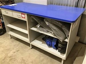 Timber Laminate Storage Unit