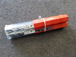Qty 3 x Hilti SDS Max Drill Bits