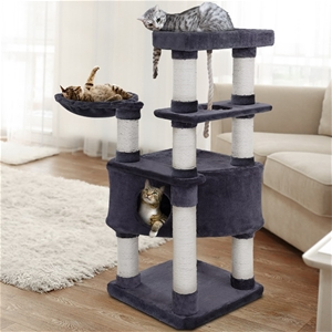 i.Pet Premium Cat Tree 137cm Scratching