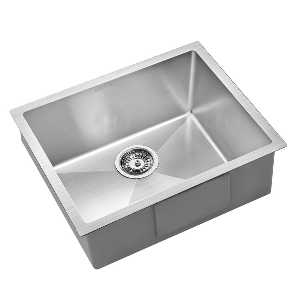 Cefito 540x440mm Nano Stainless Steel Kitchen Sink Top/Undermount Bowl