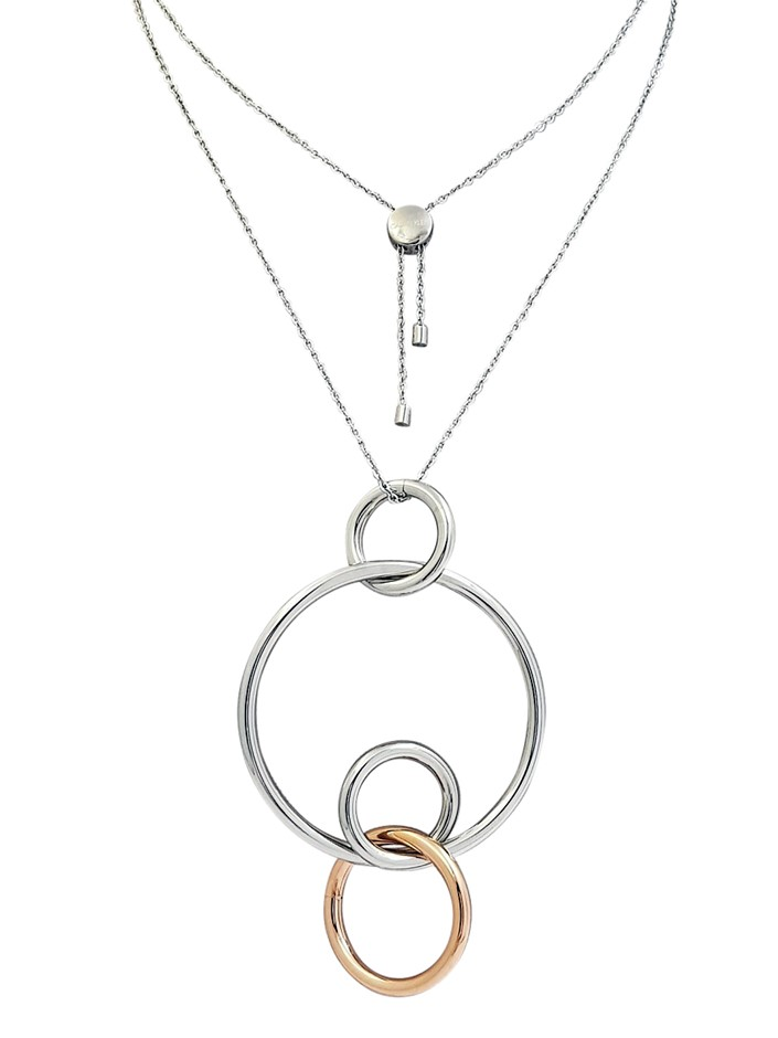 Calvin Klein Ladies Clink Pendant