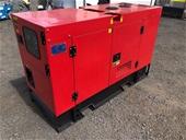 2020 Unused 25 kVA Diesel Generators - Brisbane