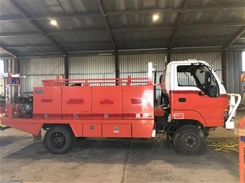 Isuzu & Mitsubishi Fire Unit/Trucks