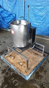 Stainless Steel Electric Tilt Boiler