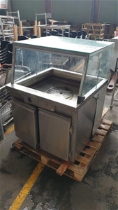 Stainless Steel Hot Bain Marie with Glas