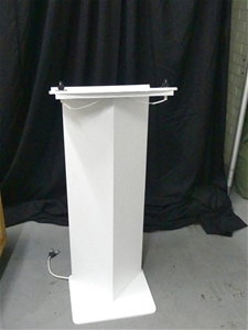 Wrapped Perspex Lectern