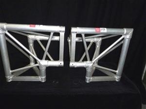 """Qty 2 x Aluminium """"""""L"""" shape 90 Deg. Tri"""