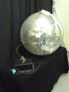 Mirror Ball with Motor