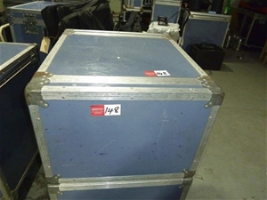 Road Case with Internal Rack Mount Fitti