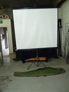 Video Screen with Tripod support