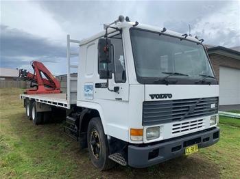 1996 Volvo FL10 C/CAB 6x4 Crane Truck
