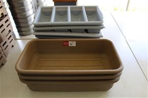 Assorted Cutlery Trays