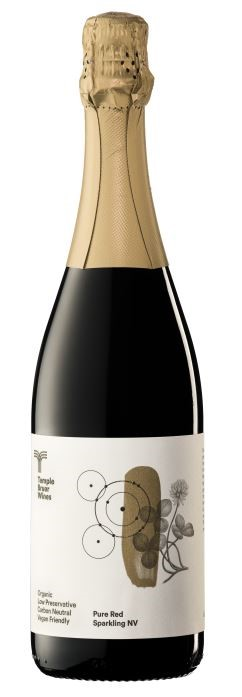 Temple Bruer Organic Sparkling Pure Red NV (6 x 750mL) Langhorne Creek, SA