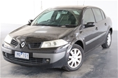Unreserved 2007 Renault Megane Expression Manual Sedan