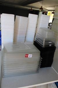Large Qty of Plastic Tubs