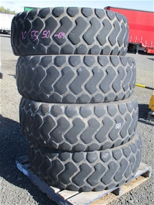 4 x Agricultural Tyres