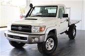 Unreserved 2011 Toyota Landcruiser Workmate (4x4)