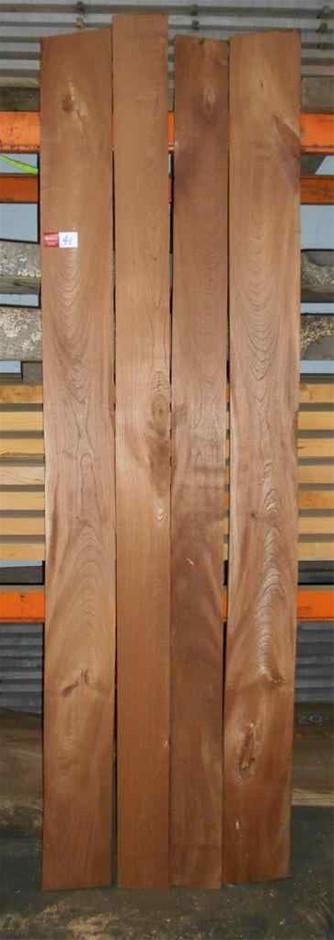 Assorted timber / furniture board pack (4 boards) - Australian Red Cedar